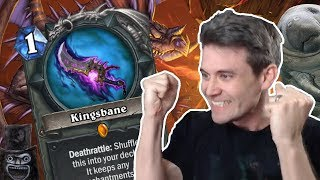 (Hearthstone) Unwinnable? vs Kingsbane Rogue