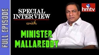 Special interview with Minister Malla Reddy | hmtv