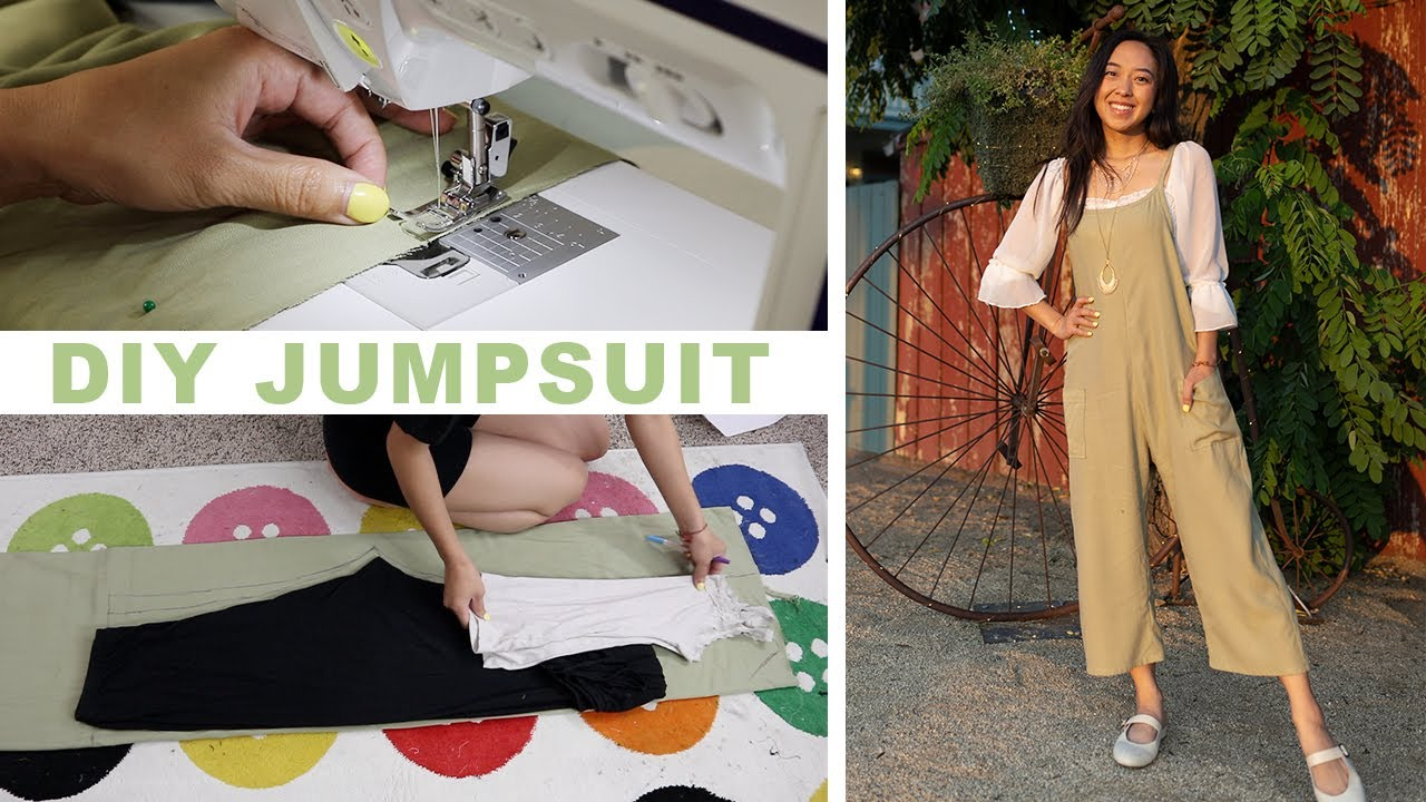 How to make a simple jumpsuit! Sewing with @coolirpa