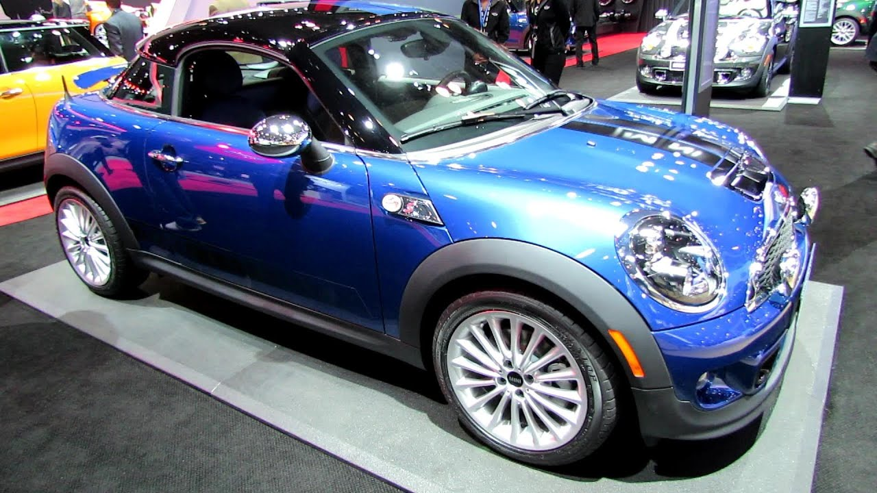 2017 Mini Cooper S Coupe Exterior And Interior Walkaround New York Auto Show