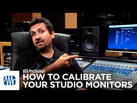 PreSonus—How To Calibrate Your Studio Monitors