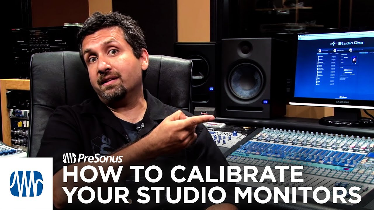 presonus how to calibrate your studio monitors youtube. Black Bedroom Furniture Sets. Home Design Ideas