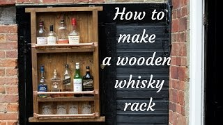 Hello and welcome to Badger Workshop. In this video i will making a wooden rack to hold wine / whisky bottles. The music i used