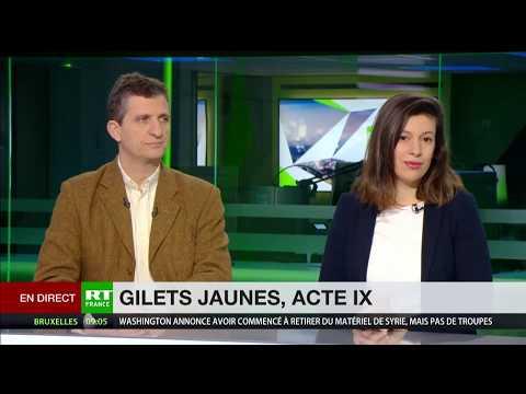 Nadia Henni-Moulaï et Serge Federbusch interviennent pour commenter l'Acte 9 des Gilets jaunes