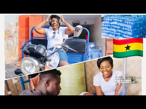 Ghana Business Idea | Pure Water Production And Delivery | Life in Ghana , Accra