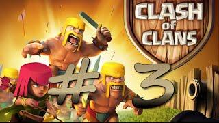 CLASH OF CLANS #3 Update ! Die Mauern auch mit Elixier aufwerten ?!*Let´s Play Clash of Clans