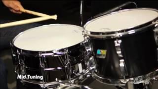 """LB417 6.5""""x14"""" Black Beauty Snare Drum"""