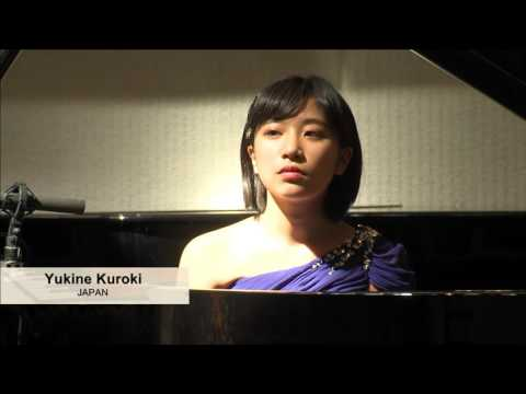 Yukine Kuroki (Japan), X International Balys Dvarionas Competition for Young Pianists