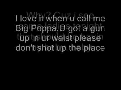 biggie smalls machine gun funk lyrics
