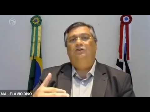 Flávio Dino disse que o Coronavírus e o bolsonarismo são doenças que desafiam o país!!!
