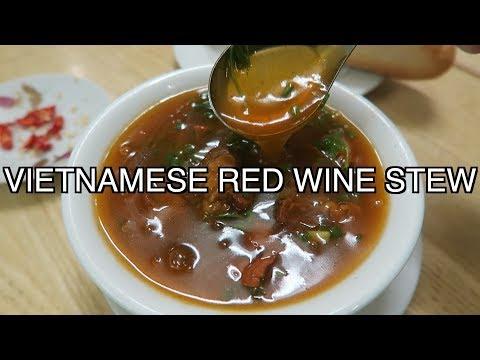 HANOI VIETNAM STREET FOOD BANH MI SOT VANG