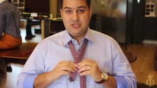 Nó de gravata Em 5 Segundos - Elegante, Serve Para Todos Colarinhos - Filato Bene