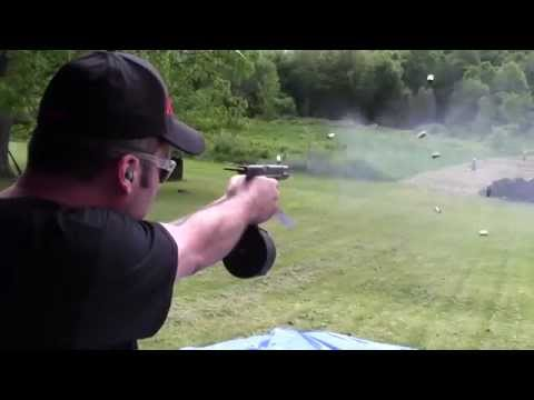 Full Auto Glock 17 with 50 Round Drum + Bonus HK MP5 and AK-47