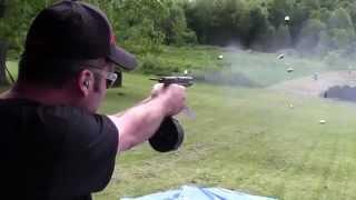 Full Auto Glock 17 with 50 Round Drum + Bonus HK MP5 and AK-47
