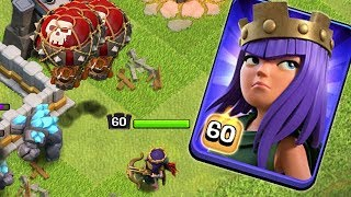 MAXING MY QUEEN!  Live War Hits | Clash of Clans