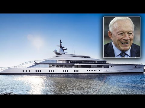 Jerry Jones becomes new owner of $250 million 'superyacht'