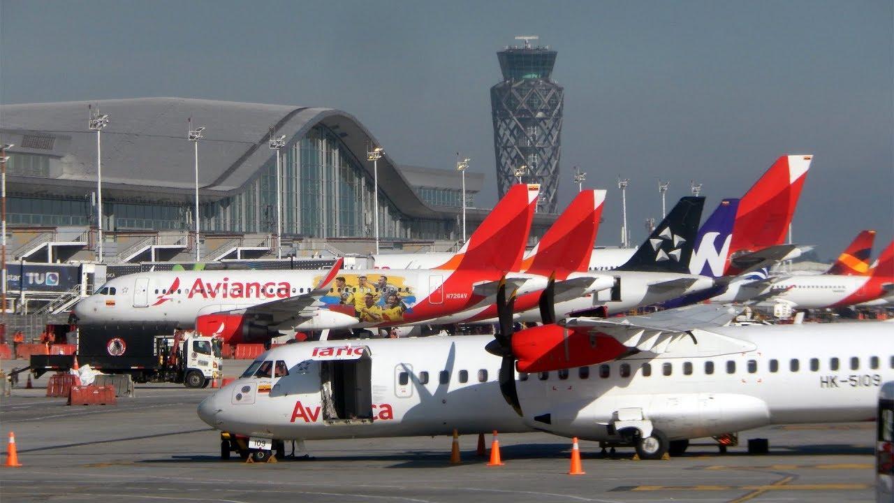 Resultado de imagen para Avianca aeropuerto bogotá