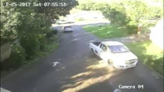 Pinetown hijacking caught on camera