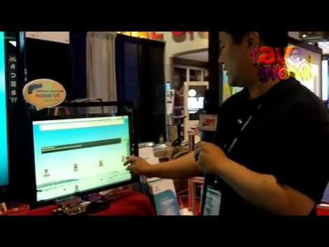 InfoComm 2011: Nuribom Explains Its Camera-Based Optical Touch Sensor