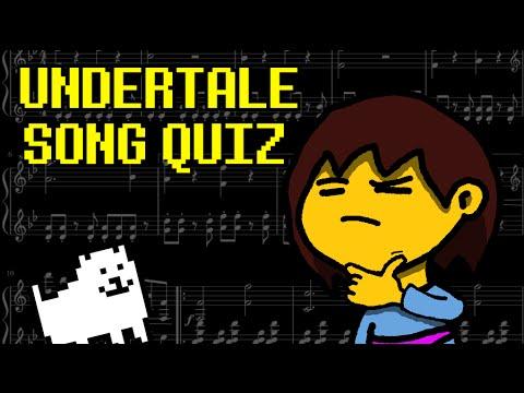 Undertale Interactive Quiz - Songs (Music)