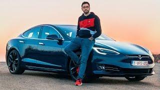 Ma 1ère Tesla à 150 000€ que je teste ! (Model S P100D)
