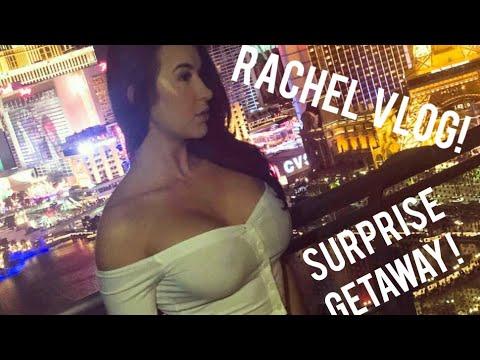 RACHEL'S BIRTHDAY SURPRISE FOR ME!