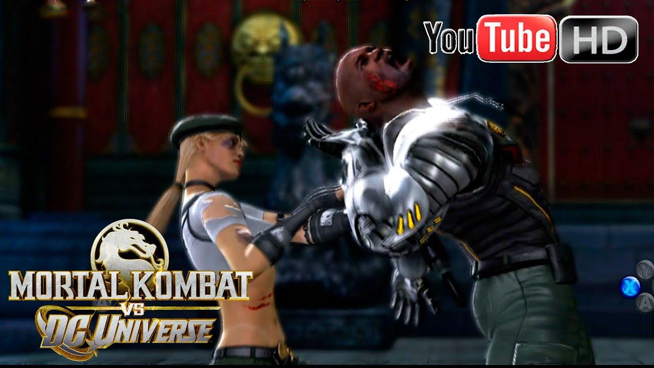 mortal kombat vs dc universe xbox 360 jax vs sonya