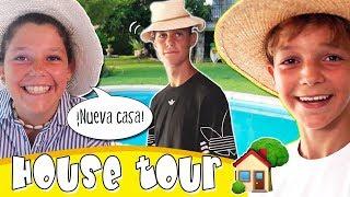 HOUSE TOUR casa The CRAZY HAACKS 🏡 La NUEVA CASA de NUESTRO PADRE 👨