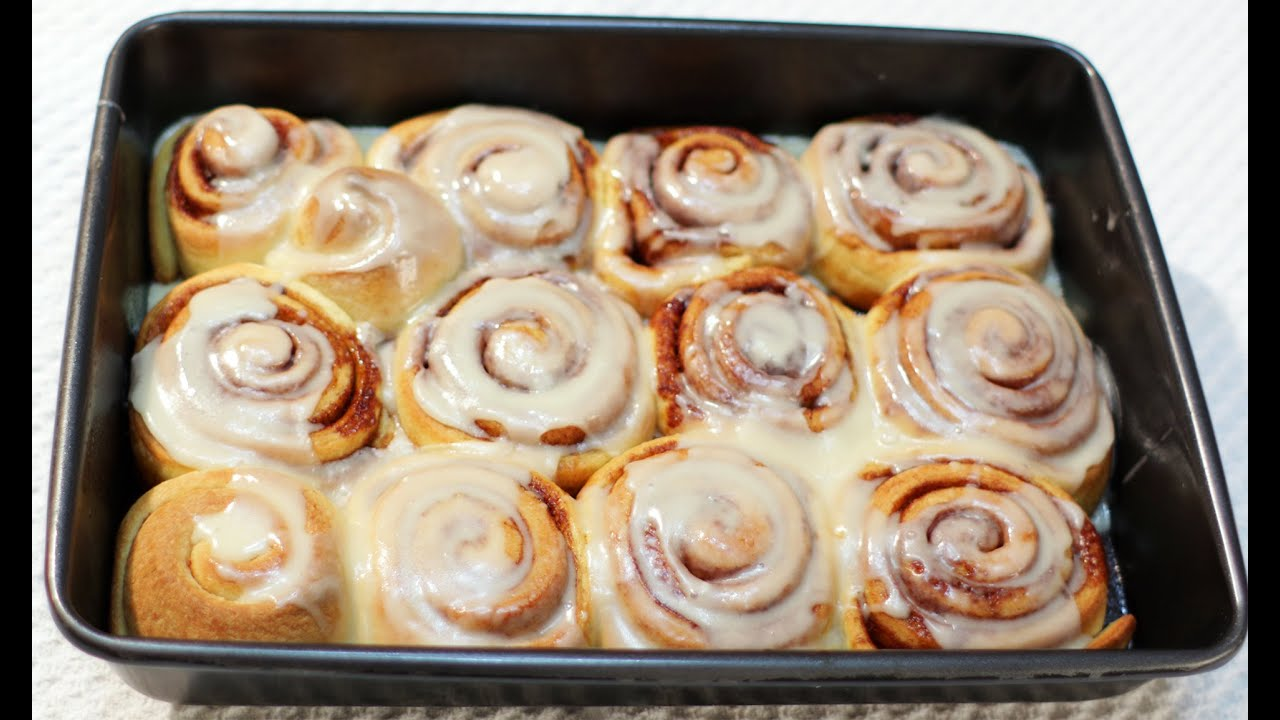 Cinnamon buns recipes easy