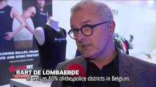 columbus at Milipol Paris - Lightest, Thinnest and most flexible bulletproof jacket (ENGLISH SUBS)