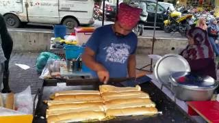 Street Food The making of John in KL Malaysia Ramadan 2015