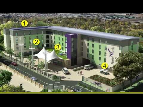 Hotel Verde - the 'greenest' hotel in Africa? [construction]