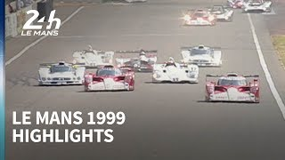 Flying Mercedes and the war of the manufacturers - 1999 Le Mans highlights