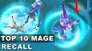 TOP 10 Mage Recall Animations in League of Legends