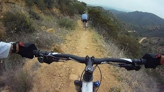 Cheeseboro Canyon Mountain Biking - Dead Cow Trail - High Quality Audio