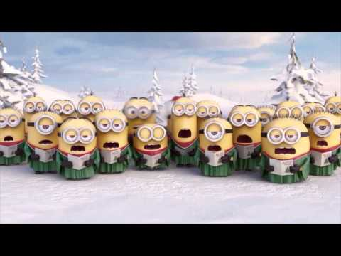 Los Minions Feliz Navidad