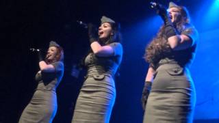 Military Medley - American Bombshells - Vet Jam 2013 - The Gramercy - New York NY - 11-10-13