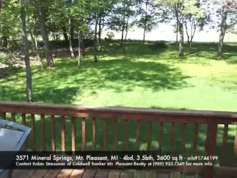 3571 Mineral Springs, Mt. Pleasant, MI - MLS#1746199