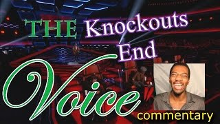 The Voice Knockouts End - Night 3 (commentary)