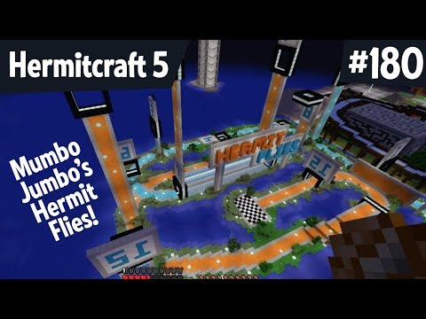 MumboJumbo's Hermit Flies— Hermitcraft 5 ep 180