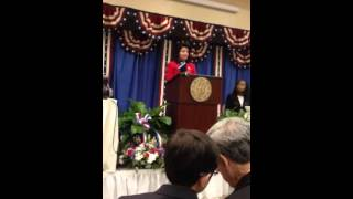 Anna Kaplan 2016 Inaugural Address