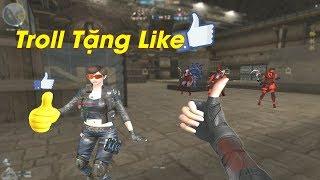 Dùng Lady 2.0 Troll Tặng Like Zombie Cực Hài - Rùa Ngáo