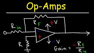 Operating Amplifiers - Inverting & Non Inverting Op-Amps