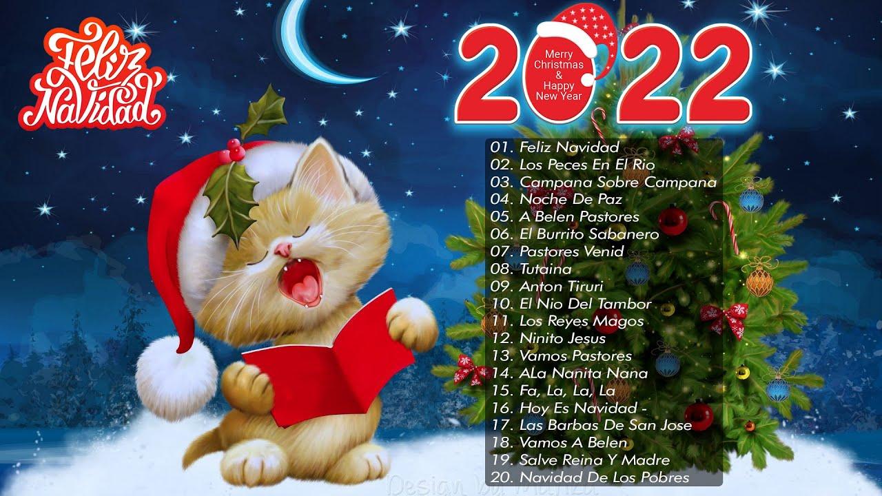 Feliz Navidad 2021❄ Música de Navidad 2021 & 2022 ❄ Mejores Exitos Villancicos Navideños 2022