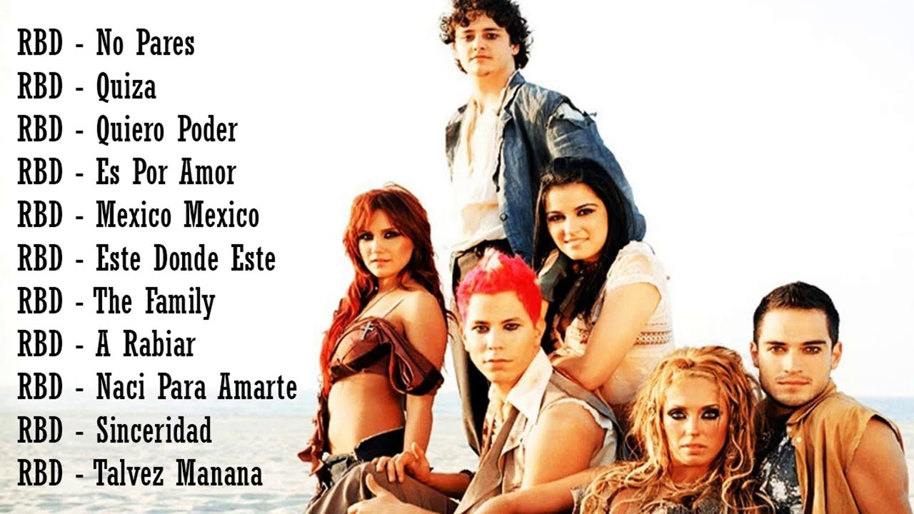 RBD MIX - Grandes Canciones Musicales de RBD Vol 1