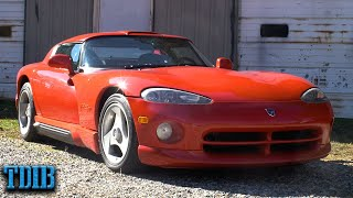 1993 Dodge Viper Review: The Most Dangerous Sports Car Ever Sold