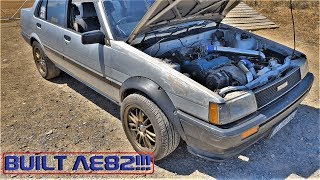 MODIFIED 3SGTE AE82 SWAP TOYOTA, WHEEL SPIN FOR YEARS!