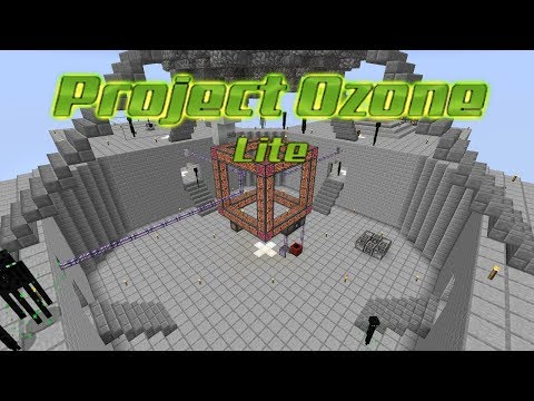 Project Ozone Lite - ONE IS ENOUGH [E18] (HermitCraft Server Modded Minecraft Sky Block)