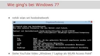 windows 8 1 laptop als wlan access point