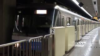 [60fps]福岡市営地下鉄空港線 姪浜行 大濠公園駅 Fukuoka Municipal Subway Kuko-line Ohorikoen(Ohori Park) sta.